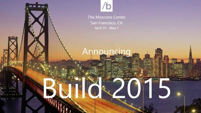 Build 2015 acontece a partir da próxima quarta-feira (29) em São Francisco (Foto: Divulgação/Microsoft)