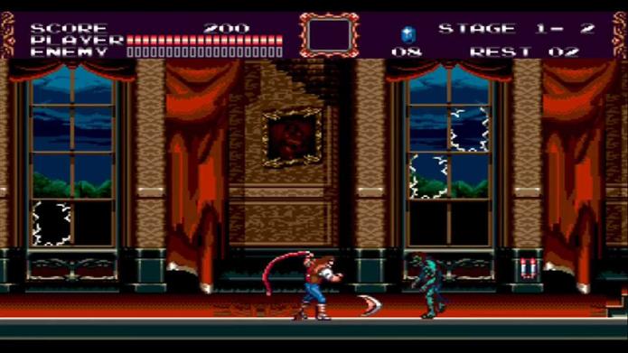 Castlevania Bloodlines foi o único game da série a chegar no Mega Drive (Foto: Reprodução/YouTube)