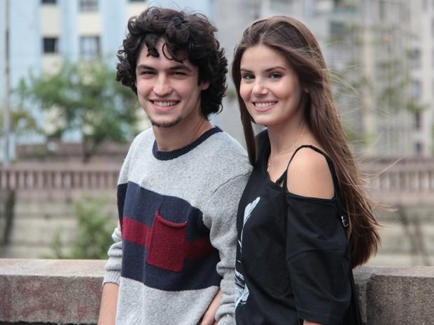 Guilherme vai se envolver com Angel em Verdades Secretas (Foto: Marcos Mazini/ Gshow)