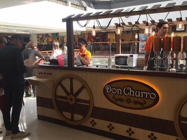 Na Don Churro, na compra de três churros em alguma das 20 unidades da rede, o cliente ganha um churro gourmet de qualquer sabor (Foto: Divulgação)