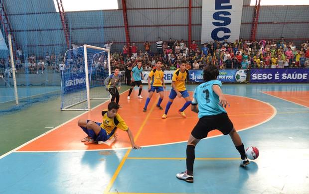 Final da Copa da Juventude de Futsal (Foto: Roberto Oshiro/TV Morena)