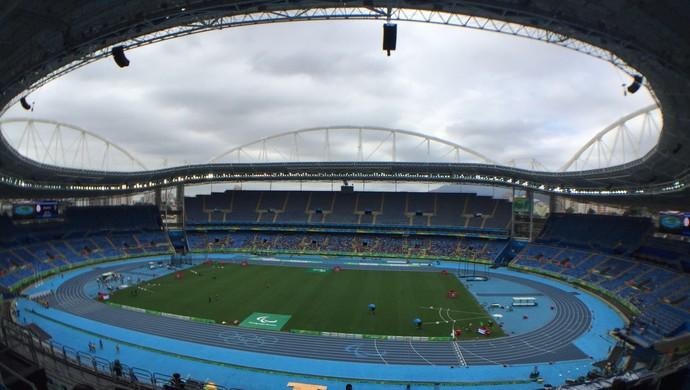 engenhão, atletismo, paralimpíada (Foto: Cahê Mota)
