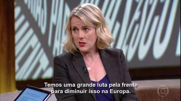 Jojo Moyes fala sobre o Brexit, eleições e polêmicas na Europa
