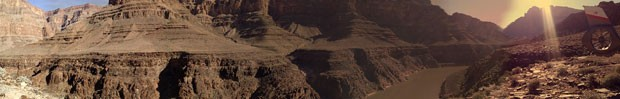 Foto panorâmica do Grand Canyon (Foto: Flávia Mantovani/G1)