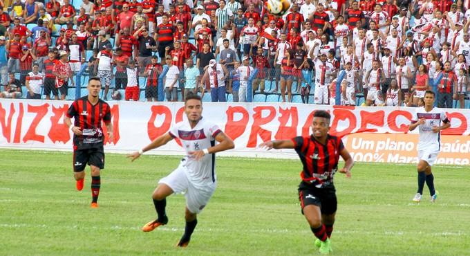 Moto e Maranhão jogam no Nhozinho Santos pelo Maranhense (Foto: Biné Morais / O Estado do Maranhão)