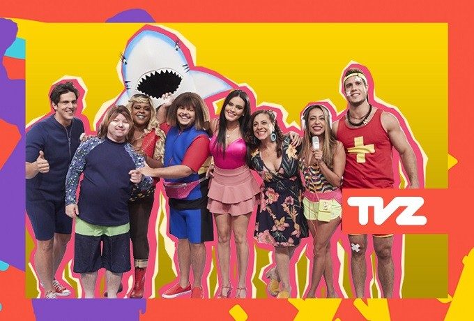 Elenco do Vai Que Cola comanda o TVZ Ao Vivo na prxima segunda-feira (13) (Foto: Divulgao/Multishow)