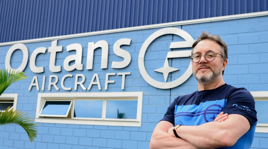 Milton Roberto Pereira, presidente da Octans Aircraft (Foto: Divulgação)