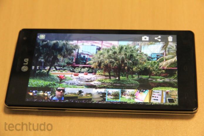 Galeria de imagens do LG Optimus 4X HD (Foto: Rodrigo Bastos/TechTudo)