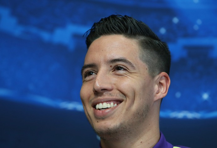 nasri manchester city (Foto: Reuters)