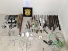 Seres apreende armas artesanais  e celulares no Complexo do Curado