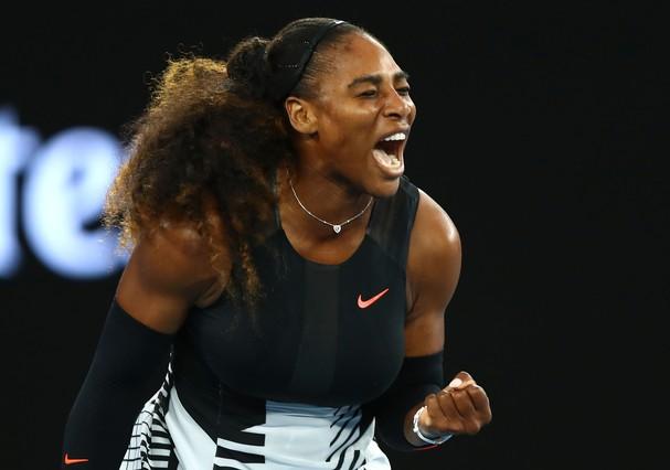 Serena Williams no Australian Open (Foto: Getty Images)