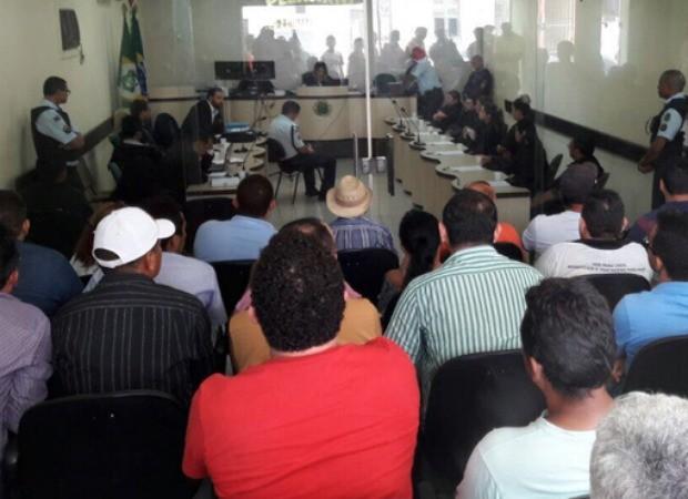 Policial militar foi condenado por matar homens a tiros na cidade de Itapajé (Foto: TJCE)