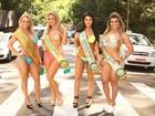 Misses Bumbum param o trânsito na Avenida Paulista: 'Causamos!'