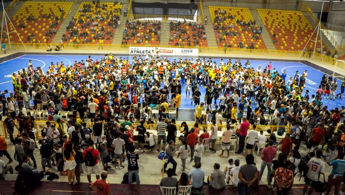 Sorocaba Futsal - peneira 2017 (Foto: Danilo Camargo/ Magnus Futsal)