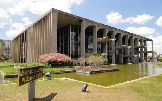 Fachada do Ministério da Justiça e Cidadania (Foto: Agência Brasil)