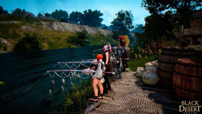 Cansou de treinar? Relaxe e vá pescar (Foto: Reprodução/Tais Carvalho)