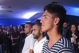 Medina e Rafael Marques s�o batidos por Lucas em duelo de videogame