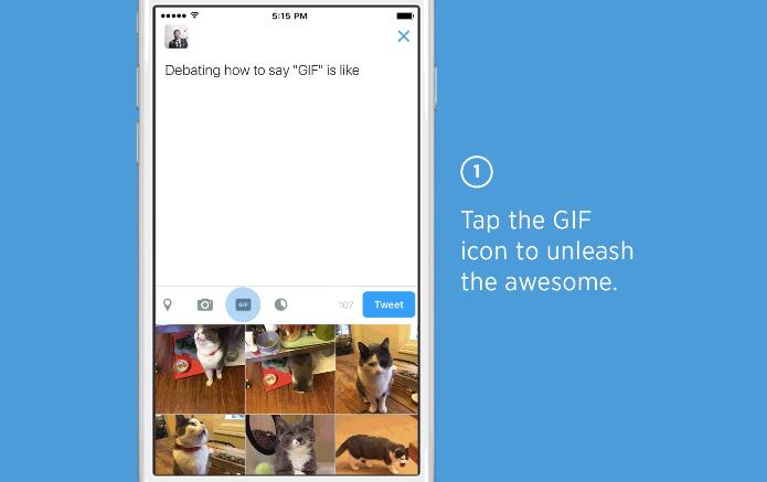 Recurso vai permitir buscar imagens por categorias ou palavras-chave (Foto: Reprodução/Twitter)