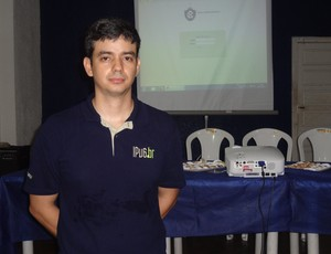 Márcio Aragão, diretor de TI do Clube do Remo (Foto: Pedro Cruz)