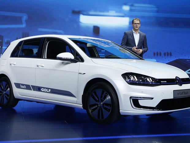Volkswagen e-Golf Touch (Foto: AP Photo/John Locher)
