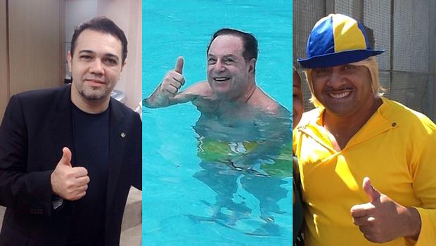 Quem deve vencer em São Paulo: Marco Feliciano (PSC), Paulo Maluf (PP) e Tiririca (PR) (Foto: Reprodução)