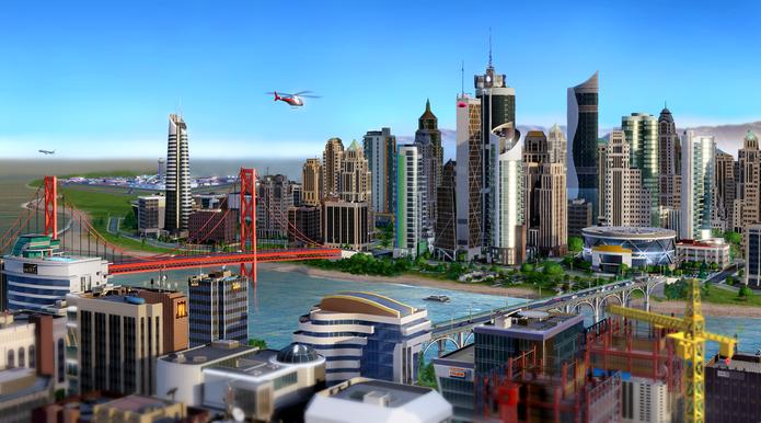Construa a sua cidade dos sonhos em SimCity após baixar o game no Origin (Foto: Divulgação/EA)
