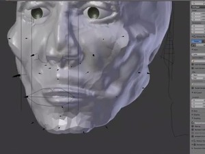 Dados estatísticos e anatômicos são cruzados para criar escultura digital (Foto: Reprodução/RBS TV)