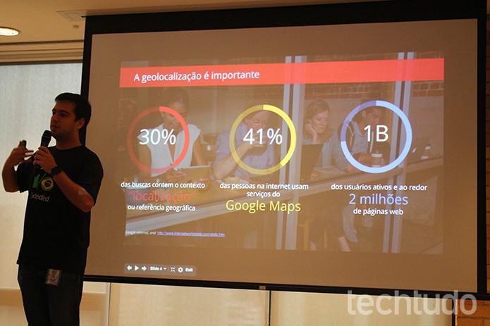 Gabriel Carvalho, Sales Engineer para a América Latina do Google Maps for Work (Foto: Leonardo Ávila/TechTudo)