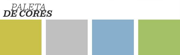 Décor do dia: Quarto com parede bicolor (Foto: Reprodução)