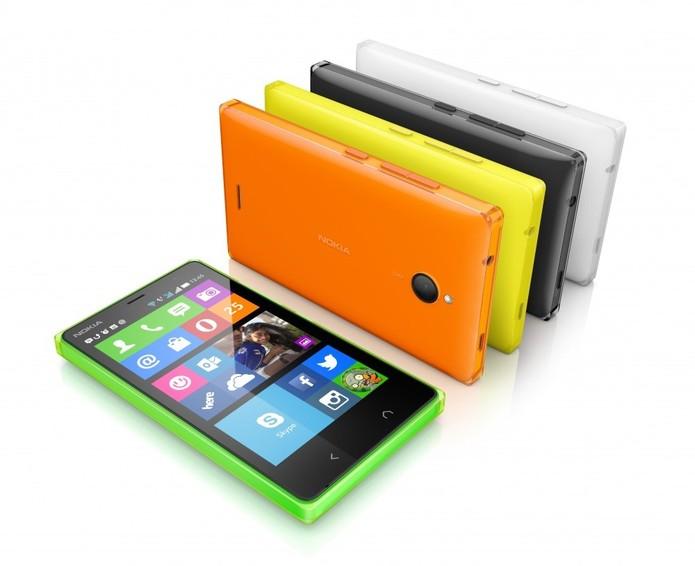 Nokia X pode não ter sido o primeiro e último smartphone da Nokia com Android (Foto: Divulgação/Microsoft)