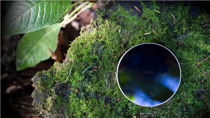 Runcible apresenta um visor redondo e corpo de madeira (Foto: Divulgação/Monohm)