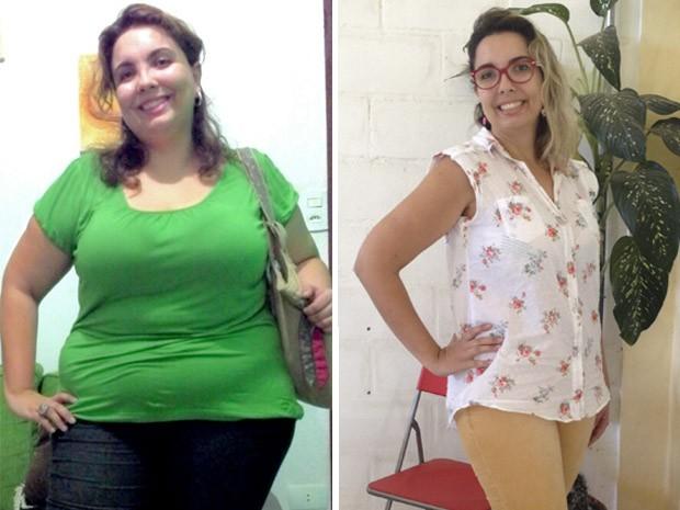 Empresária perde 42kg em um ano e cria blog para incentivar vida saudável (Foto: Reprodução/Arquivo Pessoal)