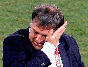 Gerardo Martino técnico Paraguai chorando (Foto: EFE)