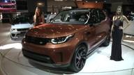 Nova geração do Land Rover Discovery é lançada