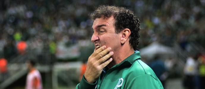 Cuca Palmeiras x Barcelona (Foto: Marcos Ribolli)