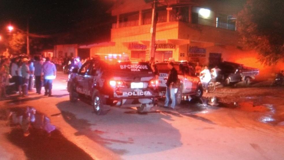 Cinco pessoas foram mortas na cidade de Horizonte (Foto: Reprodução/TV Verdes Mares)