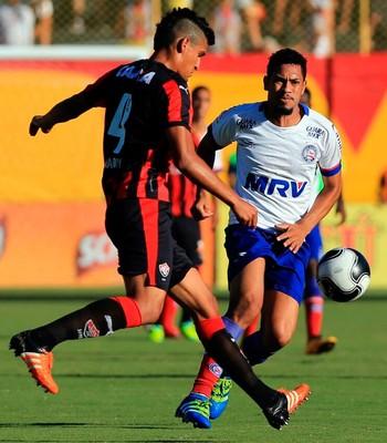 Ba-Vi; Tinga; Ramon; Henane; Vitória; Bahia (Foto: Felipe Oliveira/EC Bahia/Divulgação)