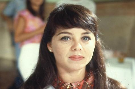 Élida como Ângela em 'Anos rebeldes' (Foto: Arquivo/TV Globo)