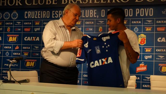 Lucas Romero, do Cruzeiro (Foto: Marco Antônio Astoni)