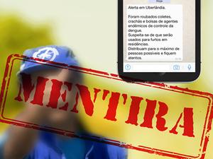 Prefeituras desmentem boato de furto de uniformes no Triângulo Mineiro (Foto: Divulgação/Prefeitura)