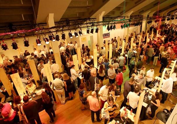 Feira de vinhos portugueses (Foto: Reprodução)