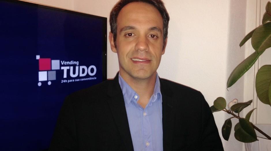 Eduardo Pereira, um dos fundadores da Vending Tudo (Foto: Divulgação)