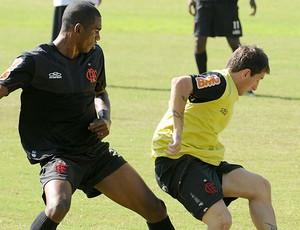 Marllon, zagueiro do Flamengo. (Foto: Alexandre Vidal / Fla Imagem)