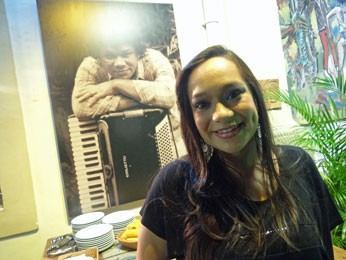 Liv Moraes seguiu carreira do pai. (Foto: Luna Markman/ G1)