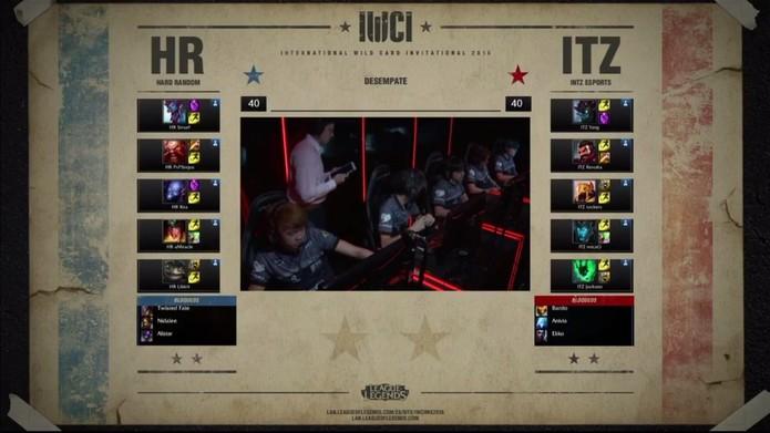 INTZ teve que encarar a Hard Random novamente no torneio (Foto: Divulgação/Riot Games)