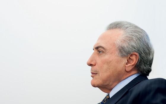 O vice presidente Michel Temer (Foto: Ignacio Aronovich /LOST ART)