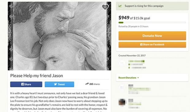 Fã cria conta para arrecadar fundos para entrerro de Charles Manson (Foto: Reprodução)