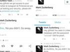 Hackers 'invadem contas de redes sociais de fundador do Facebook'
