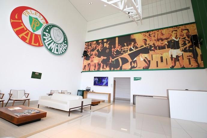 Arrancada Heroica Academia Hotel Palmeiras (Foto: Fabio Menotti/Ag. Palmeiras)