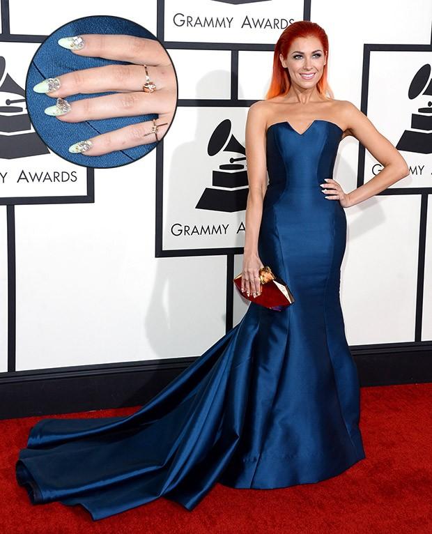 [Grammy - unhas] Bonnie McKee (Foto: AFP / Agência)